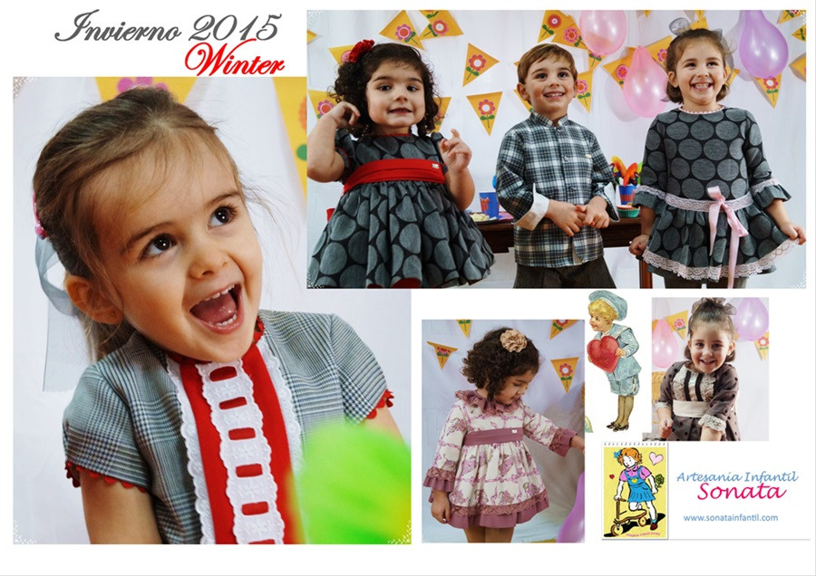 New Fall Winter 2015  Artesania Infantil Sonata
